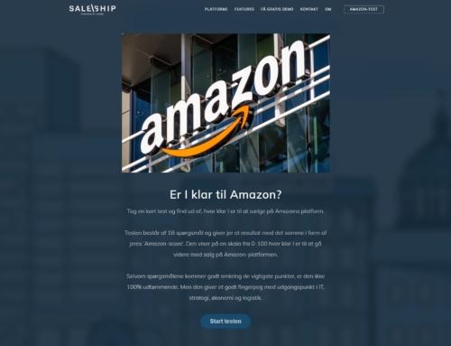 Er I klar til salg på Amazon?