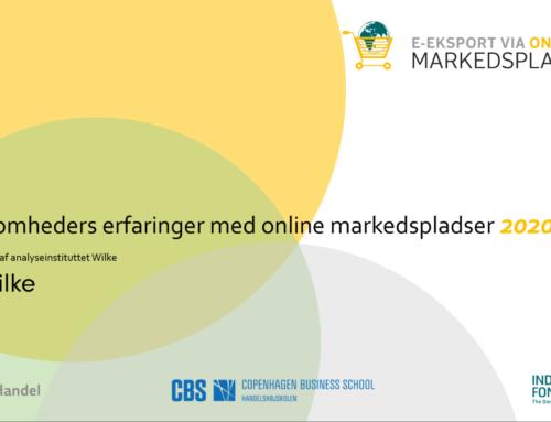 Virksomhedernes erfaringer med salg via online markedspladser 2020