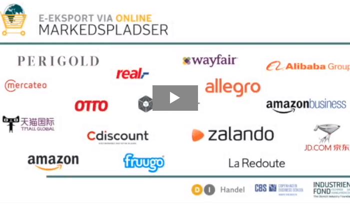 Gense virtuel event med 15 online markedspladser